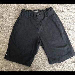 Boys dark grey Micros brand shorts size 8